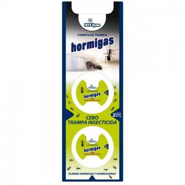 Trampa cebo insecticida para hormigas. Pack 2 uds