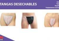 tangas desechables