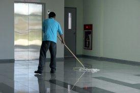 Limpieza profesional con mopas industriales de algodón Clim Profesional