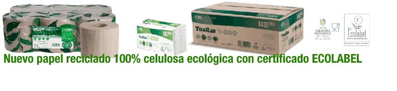 Nuevo papel secamanos ecológico