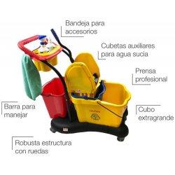 Carro de fregado profesional CLIM Compact