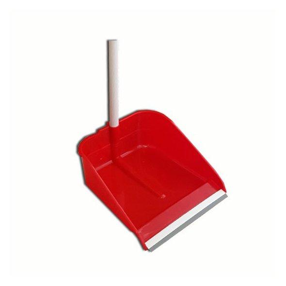 Recogedor CLIMLINE plástico con labio goma
