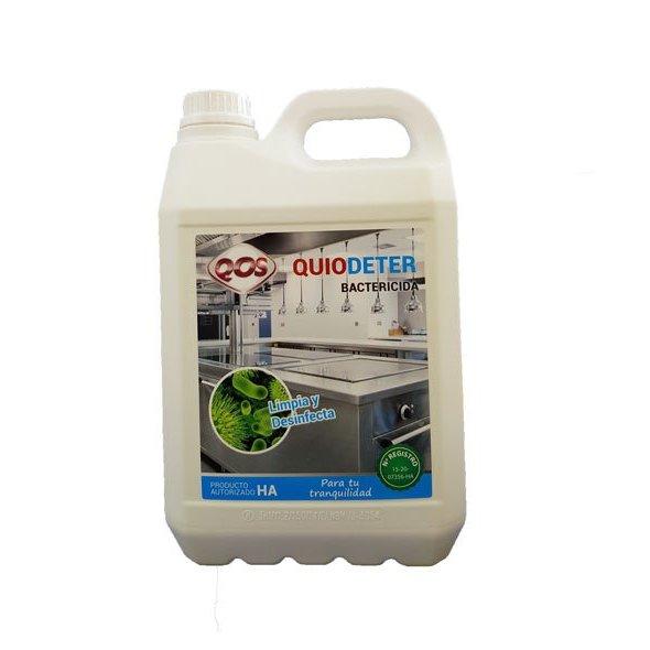 Limpiador y desinfectante en uno. QUIODETER 5L