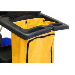 Recambio bolsa con cremallera para carro de limpieza