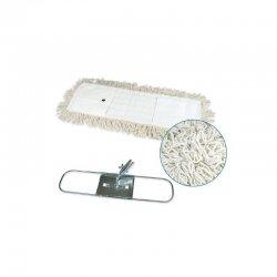Mopa plana industrial de microfibra 15x145 cms con bastidor metálico