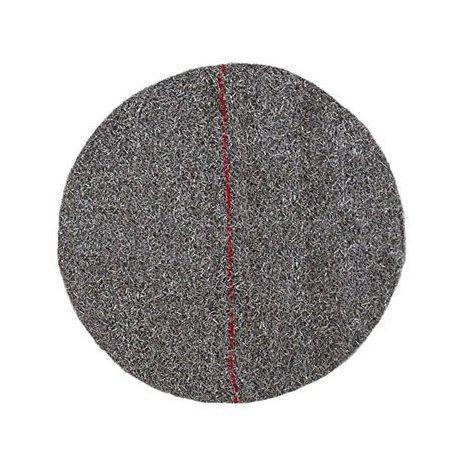 """Disco AKRON rojo de abrillantado y cristalizado 17""""/43cm"""