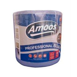 Papel de cocina azul. Rollo profesional extraabsorbente 600 servicios