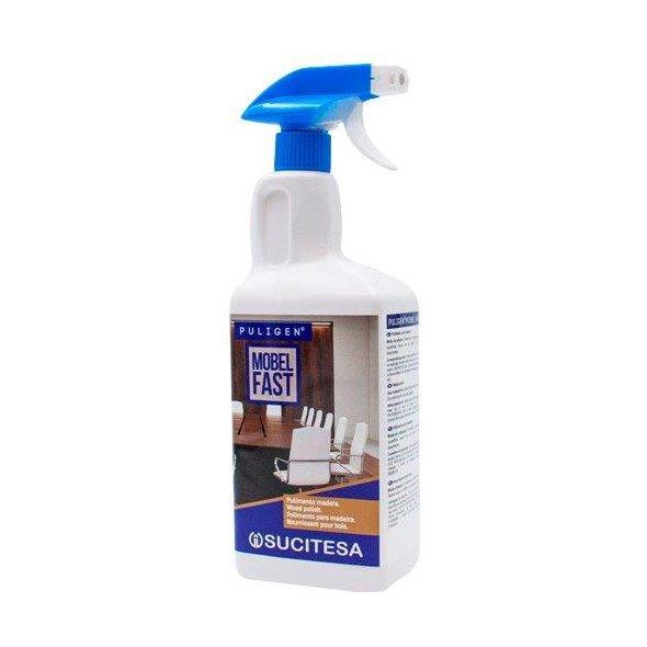 Pulimento limpiador para madera. Botella 1 litro