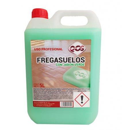 Fregasuelos al Jabón Verde. Garrafa 5 lt