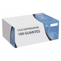 Guante de vitrilo (Vinilo+Nitrilo) sin polvo. Paquete 100 uds.