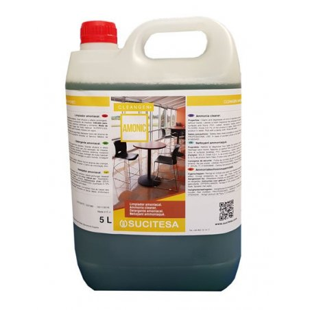 Amoniacal multiusos Pino. Envase 5 L