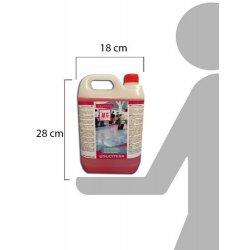 Detergente neutro para fregadoras. Botella 5 litros