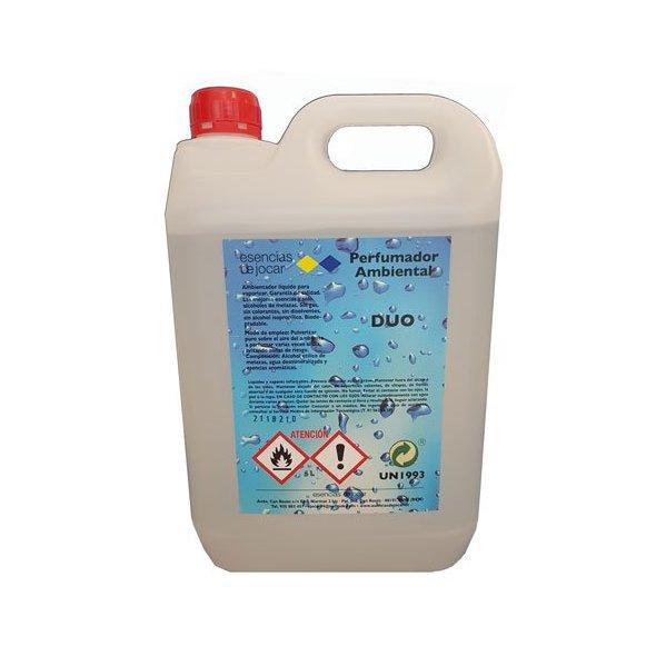 Ambientador ultraconcentrado Esencias. Garrafa 5 litros.