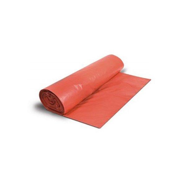 Bolsas de basura comunidad Rojas 85x105 cm. Rollo 10 uds.