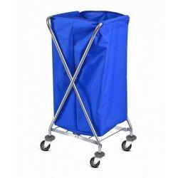Carro de lavandería plegable 120 litros