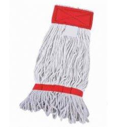 Fregona industrial Kentucky algodón crudo extra 400 grs con bandas antideshilachado