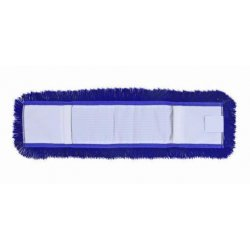 Mopa acrílica azul 15x60 cms con bastidor y mango extensible 150 cm