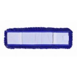Mopa acrílica azul 15x80 cms con bastidor y mango extensible 150 cm