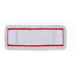 Recambio mopa plana industrial algodón para soporte abatible 80 cms