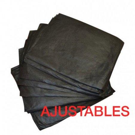 Sábanas desechables negras para camilla TST 95x220cm Caja 100 uds