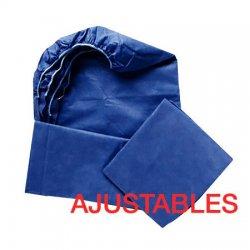 Fundas desechables ajustables camilla TST. Azul oscuro 95x220cm Caja 100uds