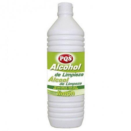 Alcohol de limpieza olor limón  1litro. Caja 12 uds