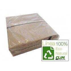 Servilletas ecológicas 40x40. Caja 2400 uds. Línea Eco Natural