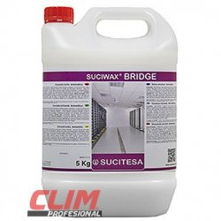 SUCIWAX BRIDGE. Emulsión brillo antiestático 5 lts