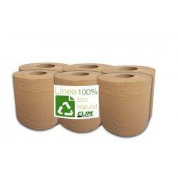 Pack 6 rollos papel secamanos ecológico. Línea eco Natural