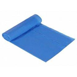 Bolsas de basura azules con autocierre 55x60 cm. 30 Litros. 15 uds.