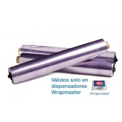 Papel film 45 cm para dispensador Wrapmaster Albal. Pack 3 uds