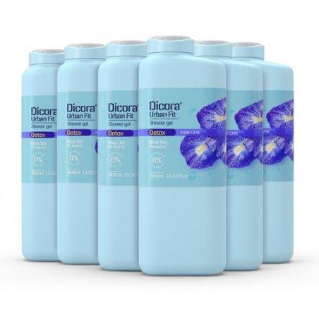 Gel de Baño Detox con té azul 400 ml. Pack 6