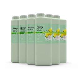 Gel de Baño Vitamina A leche y melón 750 ml. Pack 6 uds