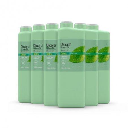 Gel de Baño Detox té verde 750 ml. Pack 6 uds