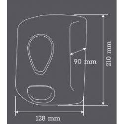 Dispensador de jabón liquido linea Elegant Ares