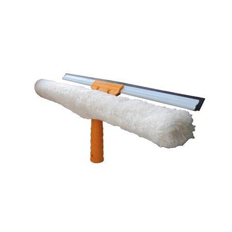 Limpiacristales EasyClean rasqueta + mojador 2 en 1 40 cm