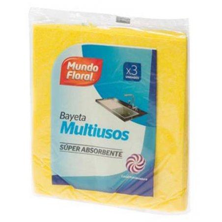 Bayeta amarilla multiusos 45 uds