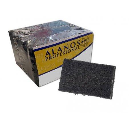 Estropajo de fibra negra Ultra. Comprar online productos de limpieza profesional