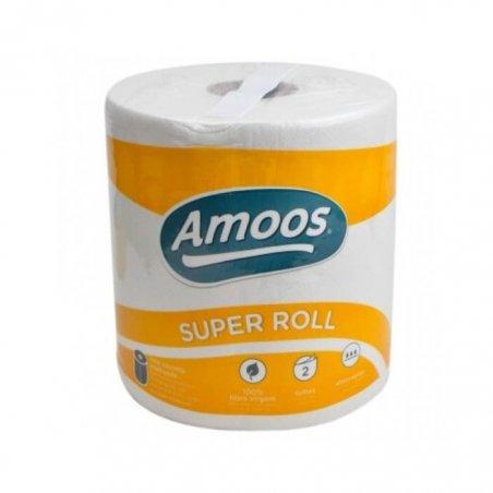Rollo de papel de cocina SUPER ROLL. Extraabsorbente.