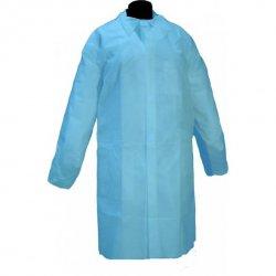 bata desechable azul