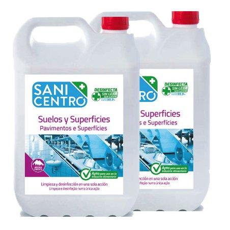 Limpiador desinfectante SaniCentro sin lejía 5L