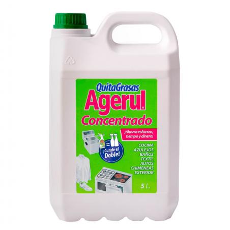 Agerul - Quitagrasas concentrado garaffa 5 litros