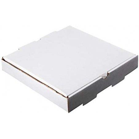 Caja para tortillas en Kraft blanco. Pack 100 unidades.