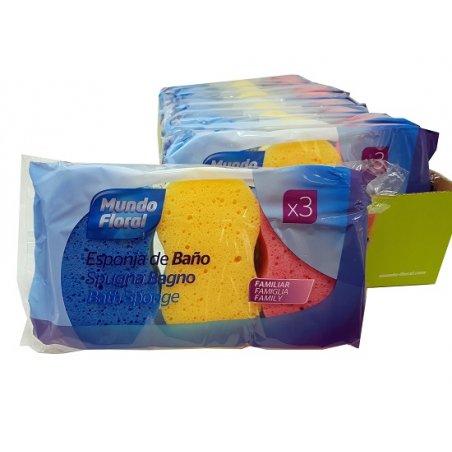 Esponjas de baño silueta....