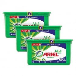 Detergente en cápsulas Ariel. Pack de 3 cajas de 35 cápsulas.