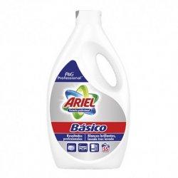 Detergente líquido Ariel profesional  de 55 lavados