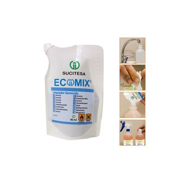 Limpiador germicida concentrado para diluir. Envase 90 ml