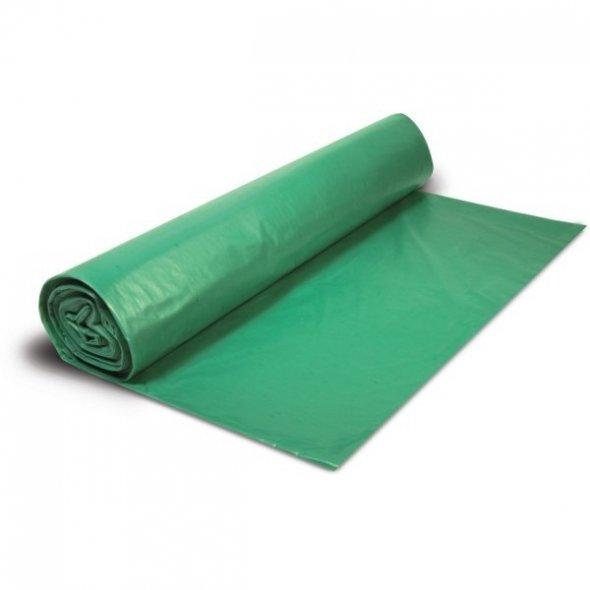 Bolsas de basura comunidad verde 85x105 cm. 100 Litros. Galga 145. 10 uds.