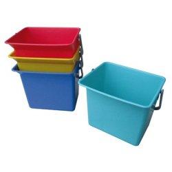 Cubeta de 6 litros con codigo colores HACCP