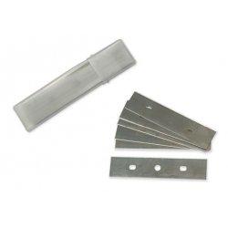 Pack 10 cuchillas doble hoja para rascador cristal